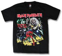 IRON MAIDEN Tシャツ アイアン・メイデン (アイアンメイデン) バンドTシャツ/ロックTシャツ/メンズ/レディース/Rock/rock/band T-SHIRTS/ファッション/半袖 /ヘヴィメタル メール便OK ヘビーメタル 最安値挑戦 80's 80年代