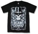 スラッシュ Tシャツ Slash GUNS N' ROSES ガンズ・アンド・ローゼズ ヴェルヴェット・リヴォルヴァー (Velvet Revolver) バンドTシャツ/ロックTシャツ/メンズ/レディース/rock/band T-SHIRTS/ファッション/半袖 【メール便OK】【売れ筋】【バーゲン】