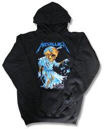 <strong>メタリカ</strong> パーカー METALLICA Metallica バンド パーカー ロック ファッション rock メンズ レディース キッズ ユニセックス プルオーバー ヘヴィメタル ヘビメタ スカル 激安 特価 おすすめ