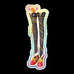 【中古品】アイカツスターズ 星のツバサ 2弾 SPR ブルーミングクイーンパンプス S2-38