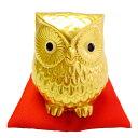 招金福郎 大 陶器製 ふくろう 置物 縁起物 金箔 お祝い 贈り物 ギフト ラッピング可能