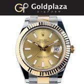 ロレックス ROLEX オートマチック腕時計 オイスターパーペチュアル デイトジャスト2 116333 ランダム YG/SS ゴールド/ホワイトバー 6か月動作保証付 代引きでのカード払い不可【中古】