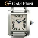 カルティエ Cartier 2017年販売 未使用 タンクフランセーズ SM W51008Q3 クオーツ式腕時計 レディース SS 6か月動作保証付