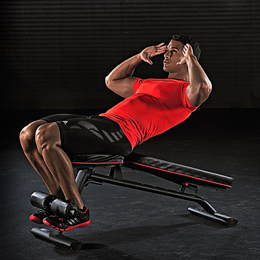adidas(アディダス)ユーティリティーベンチ アジャスタブルベンチ フラットベンチ アブベンチ インクライン ベンチ ダイエット 健康器具 運動器具 腹筋トレーニング 腹筋台 エクササイズ用品 トレーニング用品 筋トレ筋力 ラダータイプのアジャストベンチ