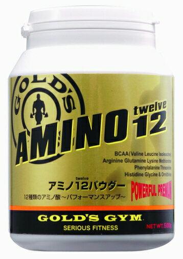 【必須アミノ酸+α】GOLD'S GYM(ゴールドジム)アミノ12パウダー 300g