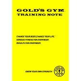 GOLD'S GYM(ゴールドジム)G9500 トレーニングノート