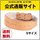GOLD'S GYM(ゴールドジム)アンティークレザーベルト