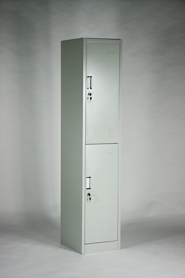 ■送料無料■新品■スチールロッカー スチールキャビネット  隙間家具 2人用■10-006