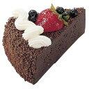 ケーキ 装飾 食品サンプル 100mmチョコレートケーキスライス