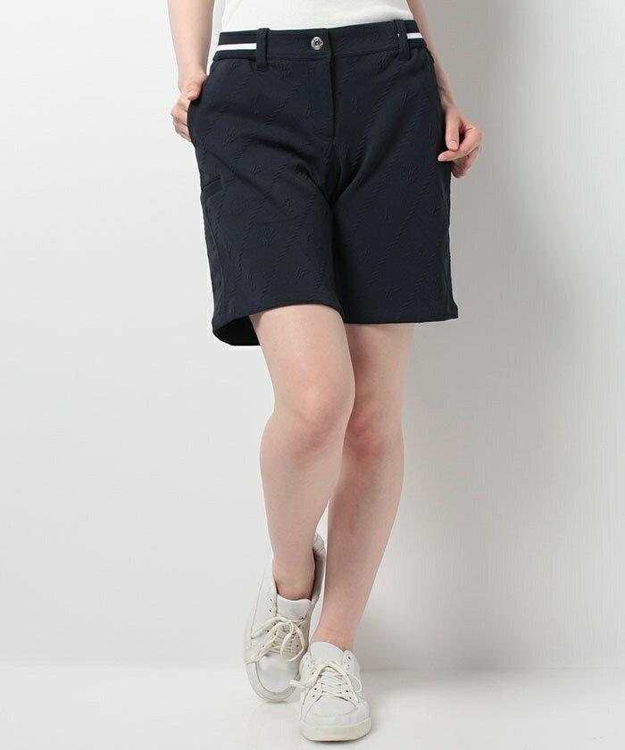 Munsingwear WOMEN レディースストレッチハーフパンツマンシングウェア ゴルフウェアJWLJ860 Munsingwear WOMEN JWLJ860とやま(とやま)