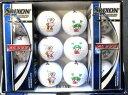 スリクソン AD333 コバトン ふっかちゃんプリント ミックス ゴルフボール埼玉県&深谷市キャラク