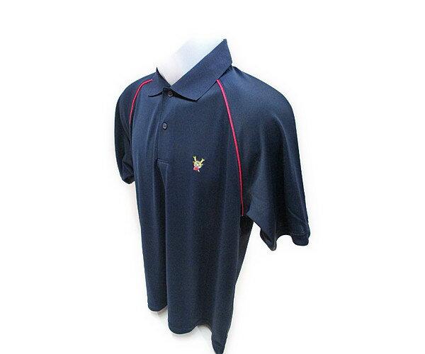 国産ふっかちゃんポロシャツショルダーストライプ...:golf-fukaya:10000229