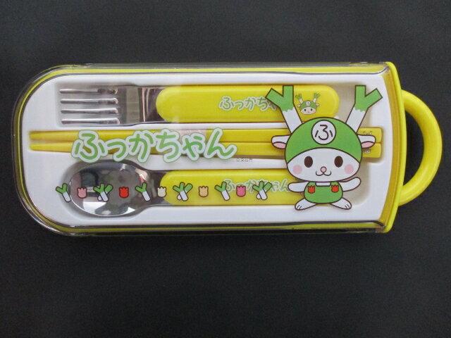 ふっかちゃん スプーン・フォーク・お箸セット...:golf-fukaya:10000622