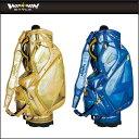 ショッピングキャディバッグ ウィンウィンスタイル WINWIN STYLE ゴルフ キャディバッグ WINWIN ATHLETE CART BAG GOLD Version CB-335,CB-336 2017