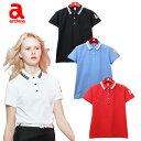 アルチビオ archivio レディース ゴルフ ウェア 半袖ポロシャツ A659314 あす楽