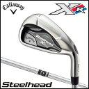 ショッピングキャロウェイ キャロウェイ ゴルフ Callaway GOLF メンズ Steelhead XR IRON スチールヘッドエックスアール アイアン セット #5-Pw N.S.PRO 950GH スチールシャフト 2016
