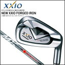 [2013 model] six XXIO FORGED [ゼクシオフォージド] iron #5-PW set MX4000