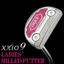 ショッピングゼクシオ ダンロップ DUNLOP レディースゴルフクラブ XXIO MILLED PUTTER ゼクシオレディスミルドパター オリジナルスチールシャフト 2016