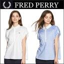 フレッドペリー FRED PERRY レディース ゴルフ ウェア シャツ SHORT SLEEVE WOVEN SHIRT F8411 あす楽
