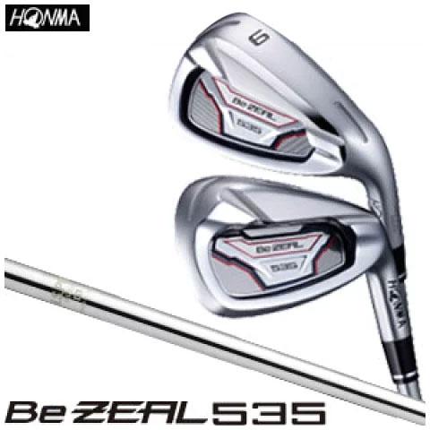 本間ゴルフHONMAGOLFメンズゴルフクラブBeZEAL535ビジール535アイアン単品( 4 5