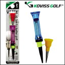 It is free stance stability by KOVISS GOLF [co-screw golf] VS TEE [VS101] L 76mm height fitting