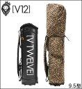 ショッピングキャディバッグ 【ポイント10倍】ヴィトゥエルヴ V12 メンズ ゴルフ キャディバッグ LEOPARD レオパード 着せ替えキャディバッグ(カバー+本体) V121510-CV13M あす楽