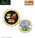 ショッピングキャディバッグ エンジョイキャディバッグ Enjoy caddiebag メンズゴルフ スーパーマリオ SUPER MARIO ゴルフマーカー チップタイプ マリオ&ルイージ SMMC004 あす楽