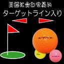 カラーゴルフボール36個パック、人気のパステルカラーピンク、オレンジ、イエロー各色12個【NS02送料無料】【RCP】