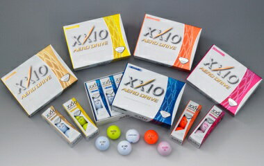 ゼクシオ ゴルフボール エアロ ドライブ XXIO AERO DRIVE GOLF BALL DUNLOP ダンロップ 2015モデル 1/2ダース(6球)