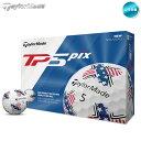 ショッピングPIXUS 2019 テーラーメイド TP5 pix USA ゴルフボール 1ダース US仕様【メール便不可】【あす楽対応】