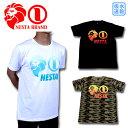 【30 OFF】【2018春夏】ネスタブランド NESTA BRAND Tシャツ トップス ゴルフ ウエア 半袖 メンズ 182NB1000 大きいサイズ 吸水速乾 グラデーション ベーシック ロゴ T 【ラッキーシール対応】
