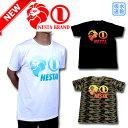 【新作】ネスタブランド NESTA BRAND Tシャツ トップス ゴルフ ウエア 半袖 メンズ 182NB1000 大きいサイズ 吸水速乾 グラデーション ベーシック ロゴ T