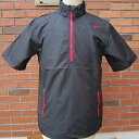 12 nike half zip S/S wind top 485984