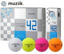 ムジーク Muziik コルテオ ライト 42 ゴルフボール