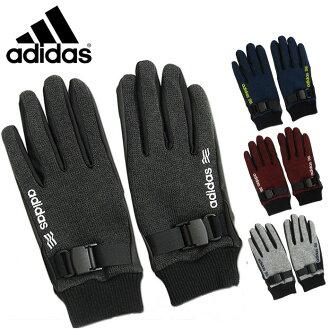 舒適阿迪達斯街頭搖粒絨雙手套 (手套雙街和羊毛) 阿迪達斯高爾夫保暖手套 NITF 租賃材料的手