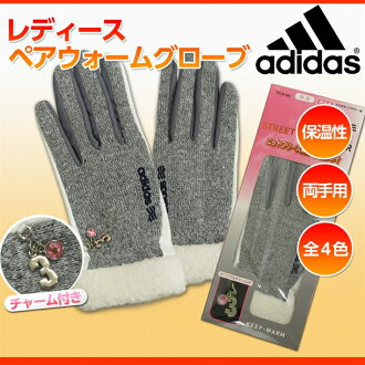 舒適阿迪達斯街頭搖粒絨雙女士手套 (手套雙街和羊毛) 阿迪達斯高爾夫保暖手套 NITF 租賃材料的手
