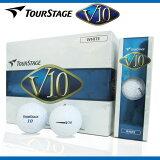 【税込2,580円】 TOURSTAGE V10 1ダース 新品 ゴルフボール ブリヂストン ツアーステージ ブイテン 12球