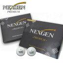 【税込2,600円】 NEXGEN PREMIUM ゴルフボール 1ダース 新品 ネクスジェン プレミアム 12球