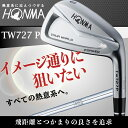 【店頭展示品】本間ゴルフ TW727 P アイアンセット VIZARD ヴィザード I 55 IB 85 シャフト フレックス R 5I〜10Iの6本セット honma golf 未使用品