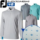 フットジョイ FOOTJOY ゴルフ 長袖 ポロシャツ バー...