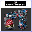 【送料無料】Scotty Cameron 2016 Las-Vegas LIMITED PUTTER Head Cover スコッティキャメロン ラスベガス 限...