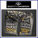 【送料無料】Scotty Cameron Custom Head cover Dancing Junkyard Dog-Standard-Charc