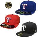 【送料無料】NEWERA ニューエラ 59FIFTY キャップ MLB テキサス レンジャースTEXAS RANGERS