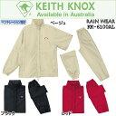 キースノックス レディースゴルフウエア 2Way レインウェア 上下セット KK-6100Al