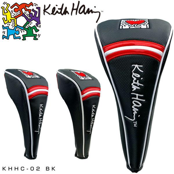 キースヘリングゴルフドライバー用/フェアウェイウッド用/ユーティリティ用ヘッドカバーHoldingH