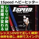 【あす楽】elite 1SPEED ヘビーヒッター スイング練習器 ゴルフ練習器 即納 エリート 送料無料GS7