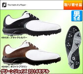 扱いやすさと高い快適性 フットジョイ メンズ ゴルフシューズ 2014 グリーンジョイズ [ 45404 45418 ] [outret]