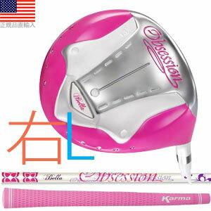 イベラ オブセッション iBella Obsession  ピンク チタンドライバークラブ(女性用/右打用) IOPTOD-R 【ゴルフ】 全米工房大ヒットクラブ日本上陸!