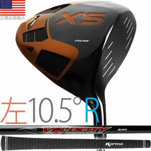 エーサー acer XS Draw チタニウム ドライバークラブ(左打用/ロフト角10.5°/シャフトフレックスR)XSD-L105 【ゴルフ】 全米工房大ヒットクラブ日本上陸!