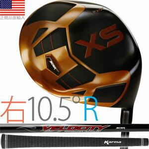 エーサー acer XS チタニウム ドライバークラブ(右打用/ロフト角10.5°/シャフトフレックスR)XST-R105【ゴルフ】 全米工房大ヒットクラブ日本上陸!